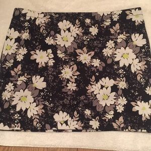 Candies floral mini skirt